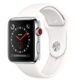 Apple Watch S3 38mm Cellular Stainless Steel