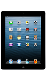 Apple iPad 4 with Wi-Fi + Cellular 128GB Black