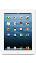 Apple iPad 4 with Wi-Fi + Cellular 32GB White